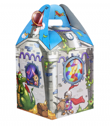 "Carry Home Box - 8"" - Knights Castle"